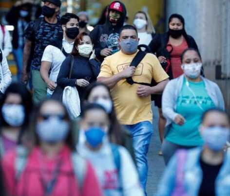 America Latina a 2 mln e 90 mila contagi
