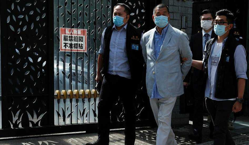 Hong Kong, arrestato tycoon Jimmy Lai