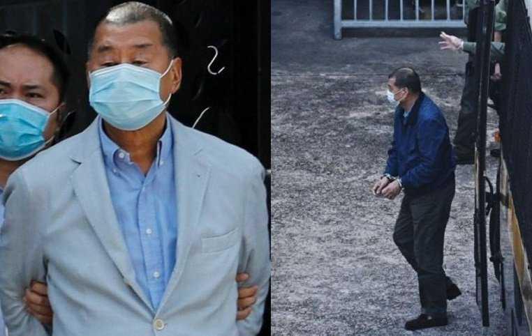 In carcere il magnate dei media e attivista Jimmy Lai